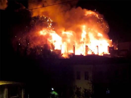 Rosja - Największy pożar w Moskwie od 25 lat -2