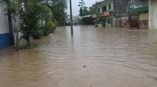 San Martin, Peru - Ulewne deszcze doprowadziły do powodzi -10