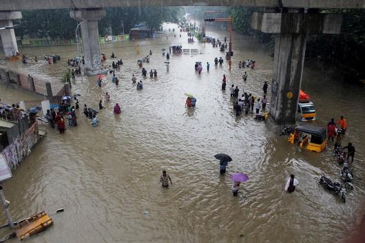 San Martin, Peru - Ulewne deszcze doprowadziły do powodzi -3