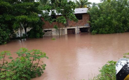 San Martin, Peru - Ulewne deszcze doprowadziły do powodzi -5