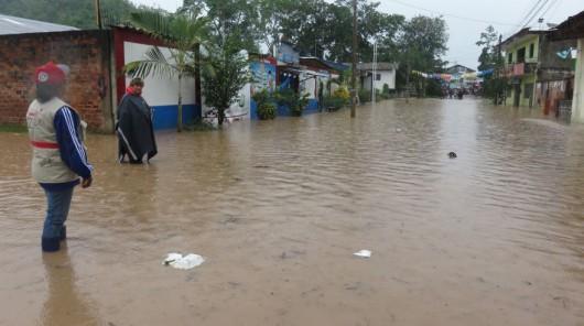 San Martin, Peru - Ulewne deszcze doprowadziły do powodzi -7