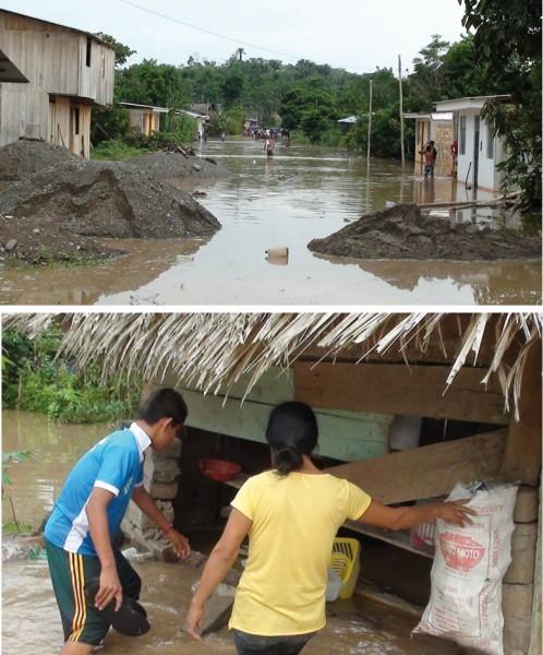 San Martin, Peru - Ulewne deszcze doprowadziły do powodzi -9