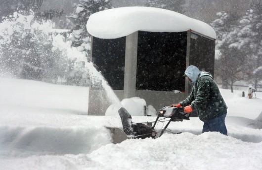 Stan Nowy Jork, USA - Przez efekt jezior spadło nawet 60 cm białego puchu -4