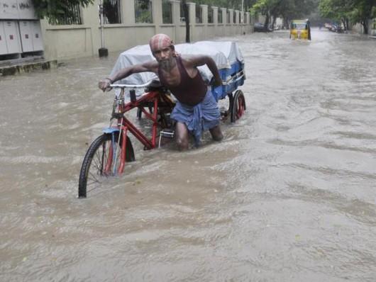Tamilandu, Indie - Od 100 lat nie spadło tyle deszczu -1