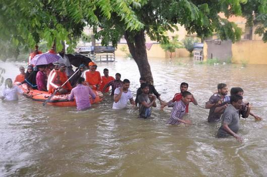 Tamilandu, Indie - Od 100 lat nie spadło tyle deszczu