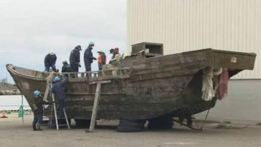 U wybrzeży Japonii pojawiło się kilkanaście tajemniczych łodzi ze szczątkami ludzi -1