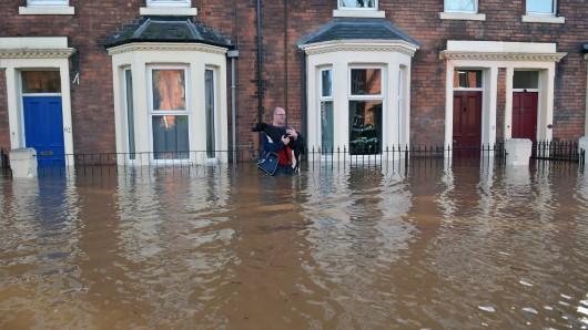 UK - Powódź na niespotykaną dotąd skalę -1
