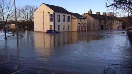 UK - Powódź na niespotykaną dotąd skalę -12