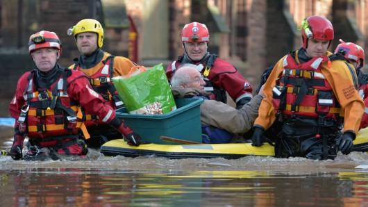 UK - Powódź na niespotykaną dotąd skalę -16
