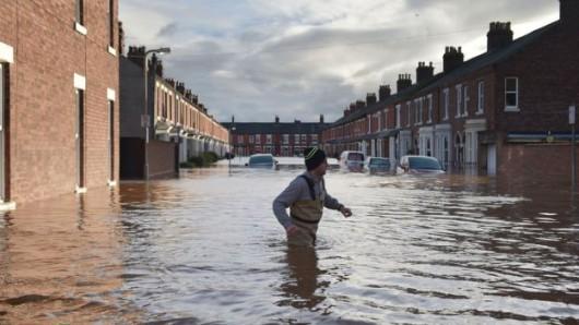 UK - Powódź na niespotykaną dotąd skalę -17