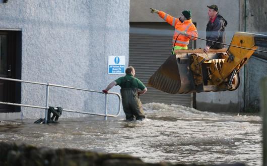UK - Powódź na niespotykaną dotąd skalę -2