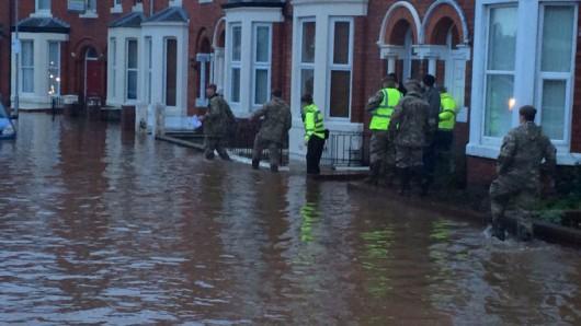 UK - Powódź na niespotykaną dotąd skalę -4