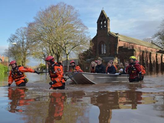 UK - Powódź na niespotykaną dotąd skalę -6