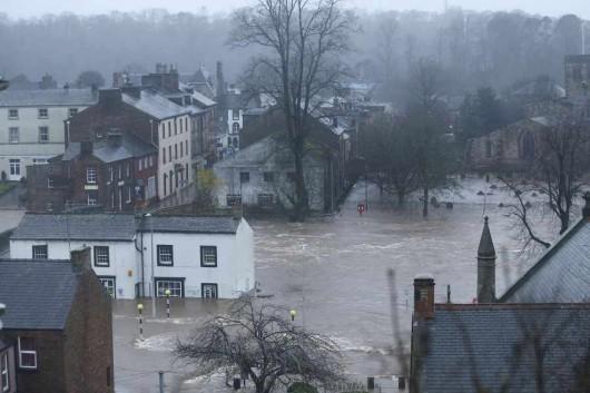UK - Powódź na niespotykaną dotąd skalę -7