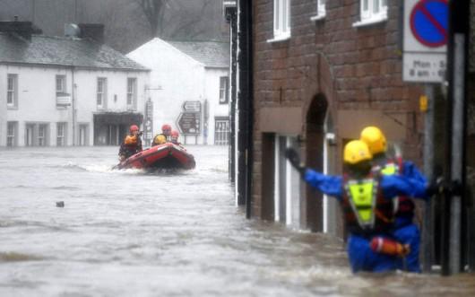 UK - Powódź na niespotykaną dotąd skalę -8