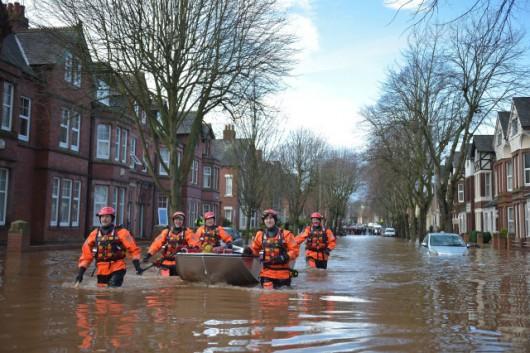 UK - Powódź na niespotykaną dotąd skalę -9