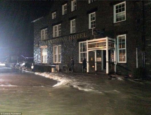 UK - Trzeci raz w ciągu dwóch tygodni wieś Glenridding została zalana -2