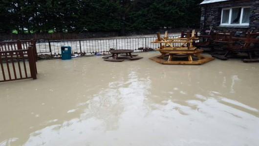 UK - Trzeci raz w ciągu dwóch tygodni wieś Glenridding została zalana -3