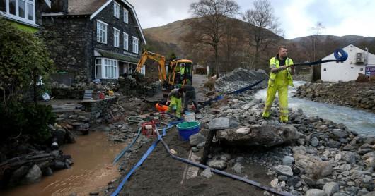 UK - Trzeci raz w ciągu dwóch tygodni wieś Glenridding została zalana -4