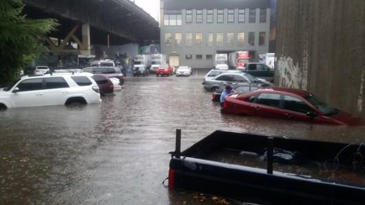 USA - Intensywne opady deszczu na Florydzie -2