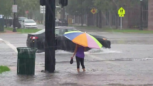 USA - Intensywne opady deszczu na Florydzie -3