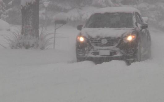 USA - Na północy wystąpiły duże opady śniegu