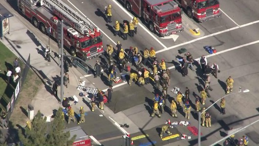 USA - Strzelanina w San Bernardino, co najmniej 20 ofiar -2