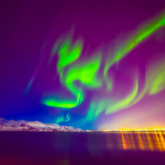 Zorza polarna - świat -10