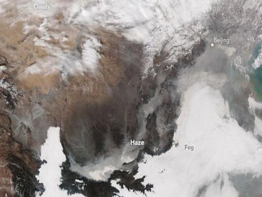 smog z kosmosu