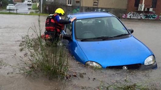 Australia - Gwałtowna powódź -1