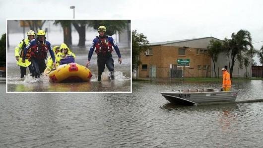Australia - Gwałtowna powódź -5