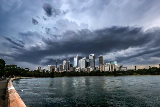 Australia - Potężna nawałnica w Sydney -9