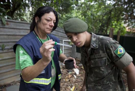 Brazylia - Do walki z komarami przenoszącymi wirus zika rząd wyśle 200 tysięcy żołnierzy