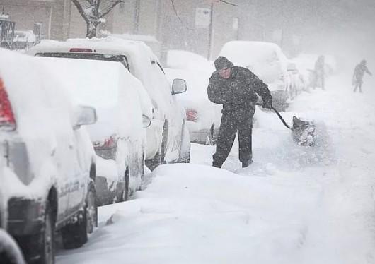 Bułgaria - Duże opady śniegu -2