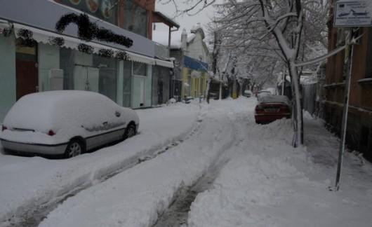 Bułgaria - Duże opady śniegu -3
