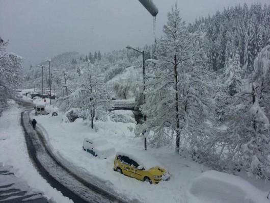 Bułgaria - Duże opady śniegu -4