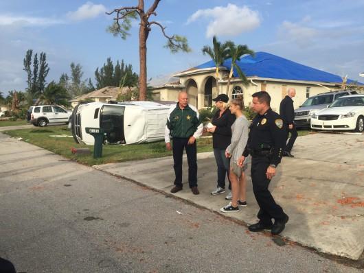 Cape Coral, USA - Tornado uszkodziło prawie 200 budynków na Florydzie -2