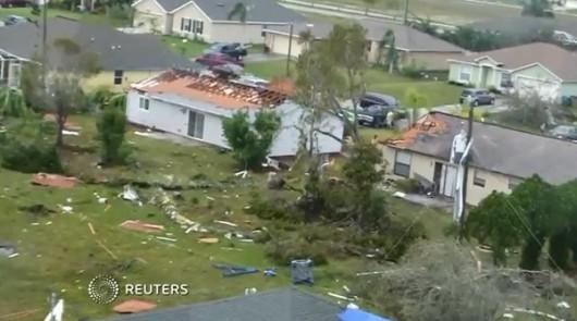 Cape Coral, USA - Tornado uszkodziło prawie 200 budynków na Florydzie -3