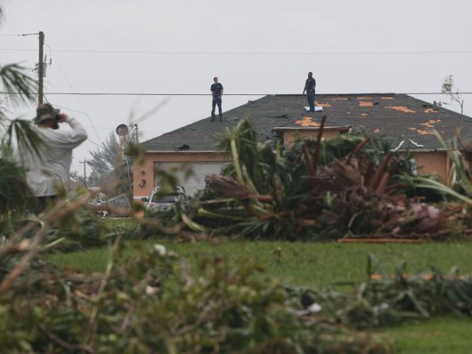 Cape Coral, USA - Tornado uszkodziło prawie 200 budynków na Florydzie -4