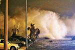 Chile - Potężne fale w nadmorskim kurorcie w Vina del Mar -3