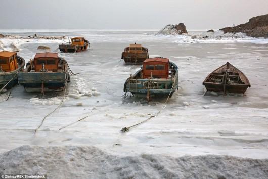 Hebei, Chiny - Miejscami temperatura gwałtownie spadła do -43 st.C -1