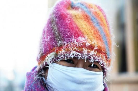 Hebei, Chiny - Miejscami temperatura gwałtownie spadła do -43 st.C -4