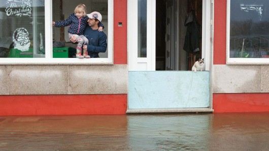 Hiszpania - Obfite opady deszczu w Galicji -4