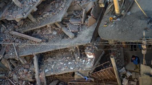 Indie, Birma i Bangladesz - Co najmniej 11 osób zginęło w silnym trzęsieniu ziemi -10