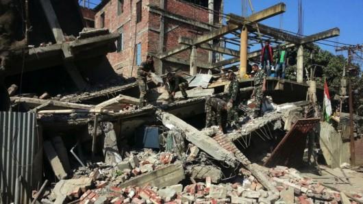 Indie, Birma i Bangladesz - Co najmniej 11 osób zginęło w silnym trzęsieniu ziemi -2