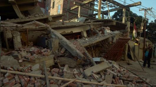 Indie, Birma i Bangladesz - Co najmniej 11 osób zginęło w silnym trzęsieniu ziemi -4