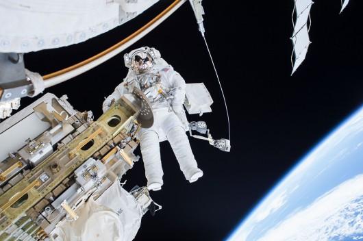 Kosmonauci na ISS