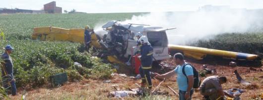 Londrina, Brazylia - Samolot spadł na busa przewożącego ludzi -2