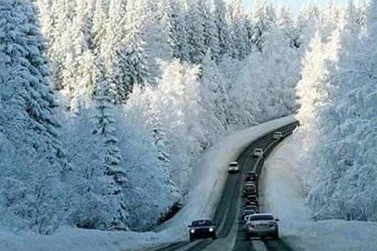 Meksyk - Pierwszy śnieg od 18 lat w stanie Coahuila -1
