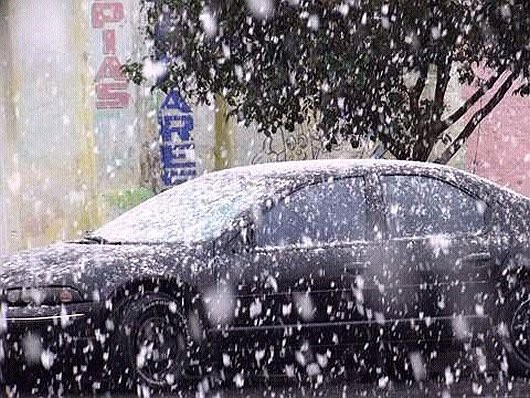 Meksyk - Pierwszy śnieg od 18 lat w stanie Coahuila -2